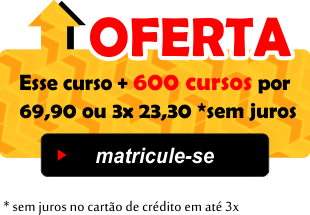 Promoção Acesso aos 600 Cursos 3x 23,30